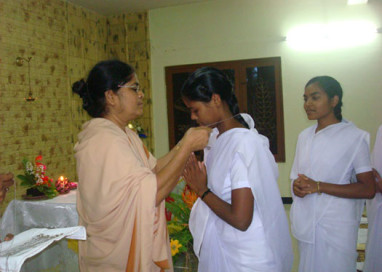 Pre-Postulancy Program in the Visitation Province Bangalore, July 3rd 2015